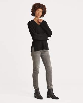 Ralph Lauren Cable Cashmere Dolman Sweater