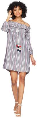 Kensie Lawn Chair Stripe Dress KS5K8206 Women's Dress
