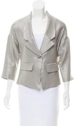 Milly Metallic Blazer Jacket