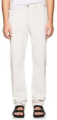 Helmut Lang Men's High-Rise Straight-Leg Jeans - White
