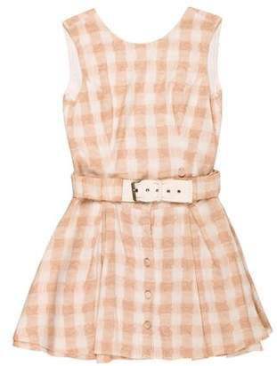 Opening Ceremony Mini Check Dress