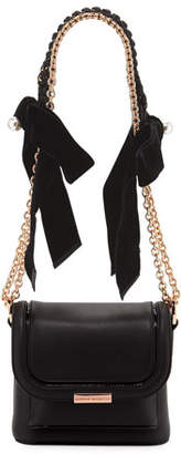 Sophia Webster Claudie Crossbody Bag with Bows & Pearly Charm