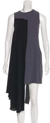 MM6 MAISON MARGIELA Asymmetrical Midi Dress