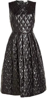 Noir Kei Ninomiya Moncler Genius 6 Moncler Quilted Dress