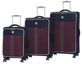 IT Luggage Filament 8 Wheel with Expander 3-Piece Luggage Set