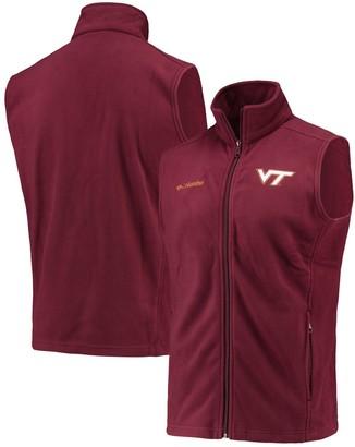 Columbia Unbranded Men's Maroon Virginia Tech Hokies Flanker II Full-Zip Vest