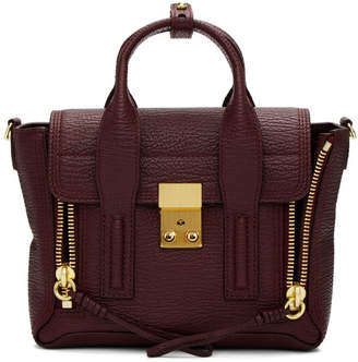 3.1 Phillip Lim Burgundy Mini Pashli Satchel Bag