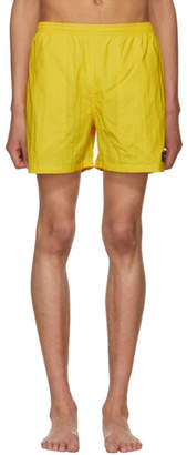 Noah NYC Yellow Swim Shorts