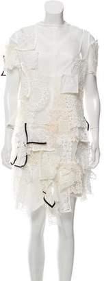 Sacai Lace Patchwork Dress w/ Tags