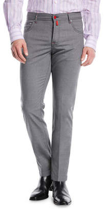 Kiton Five-Pocket Wool Pants