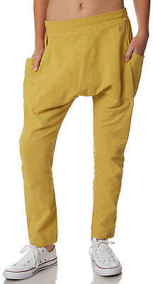 Munster New Girls Youth Girls Baha Pant Cotton Fitted Gold