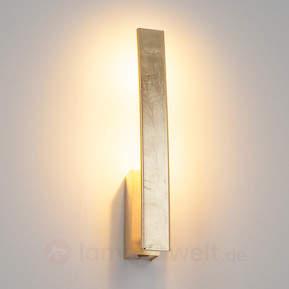 Goldene LED-Wandleuchte Xalu