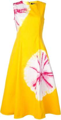 Calvin Klein flower stamps dress