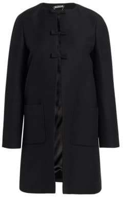 Miu Miu Technical Wool Car Coat