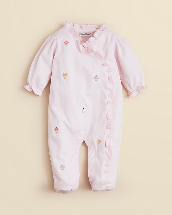Kissy Kissy Infant Girls' Cupcake Footie - Sizes 0-9 Months