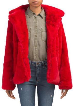 Heavyweight Faux Fur Jacket