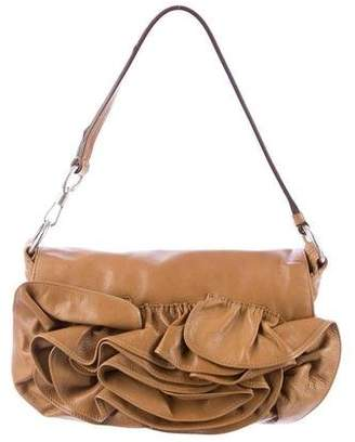 Pre Owned At Therealreal Saint Laurent Rosette Shoulder Bag