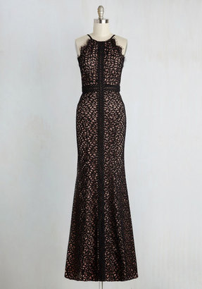 Bariano Champagne Savoring Dress $269.99 thestylecure.com