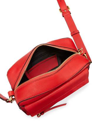 Cole Haan Kathlyn Leather Camera Crossbody Bag, Orange