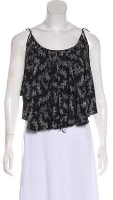 Band Of Outsiders Printed Sleeveless Top