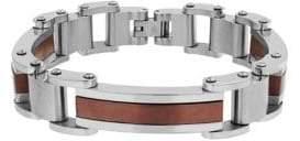 Lord & Taylor Contrast-Trimmed Link Bracelet