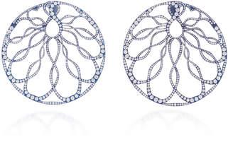 Arunashi One-Of-A-Kind Diamond Hoop Earrings