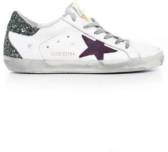 Golden Goose Glittery Superstar Sneakers