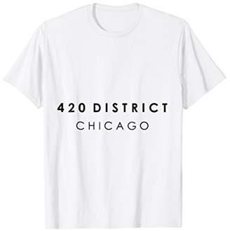 420 District - Chicago t-shirt for men