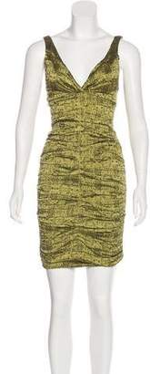 Nicole Miller Ruched Mini Dress w/ Tags