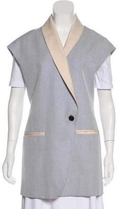 3.1 Phillip Lim Shawl-Lapel Jacquard Vest