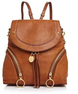 See by Chloe Olga Large Leather Backpack