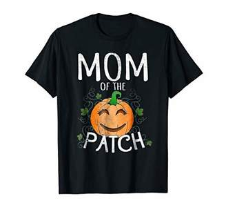 Halloween Pumpkin Mom of the Patch T Shirt Gift