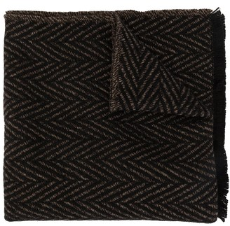 Cerruti knitted scarf
