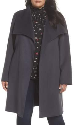 Tahari Ellie Wrap Coat