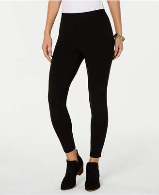 Style&Co. Style & Co Faux-Suede Blocked Leggings