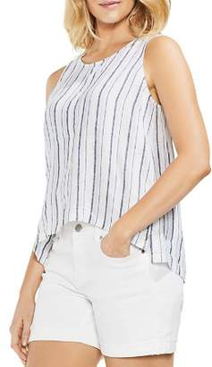 2efb9678ae Free Shipping  150+ at Bloomingdale s · Vince Camuto Striped Linen Lace-Up  Tank