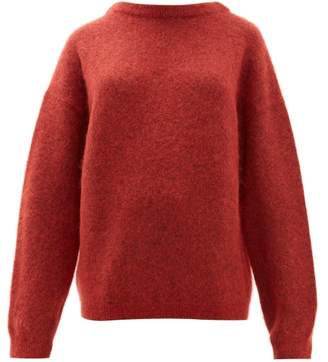 Acne Studios Dramatic Moh Oversized Sweater - Womens - Red