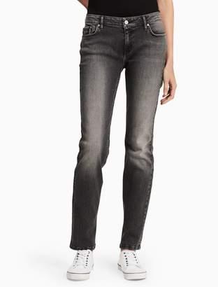 Calvin Klein straight leg black jeans