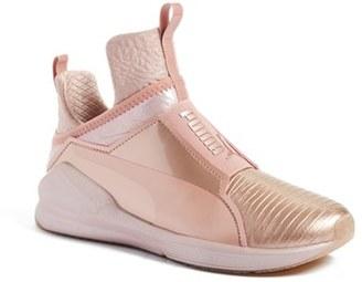 Women's Puma 'Fierce Metallic' High Top Sneaker $99.95 thestylecure.com