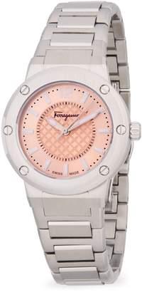 Salvatore Ferragamo Stainless Steel Analog Bracelet Watch