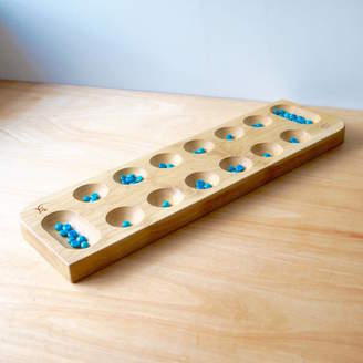 Traditional Wooden Games Personalised Wooden Mancala Board
