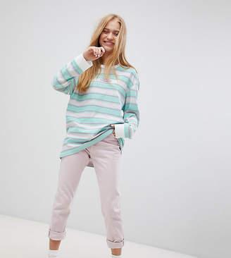 Puma Exclusive Oversized Organic Cotton Stripe Long Sleeve T-Shirt