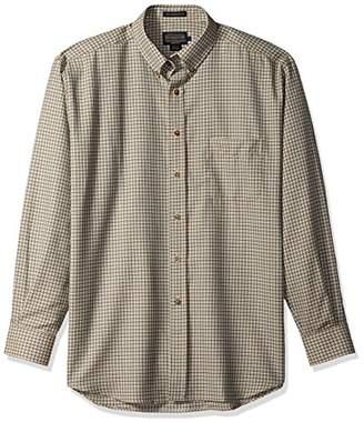 Pendleton Men's Long Sleeve Button Front Classic-fit Sir Shirt