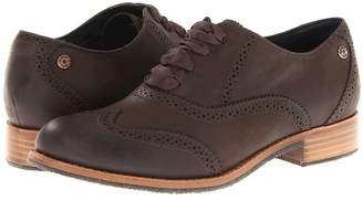 Sebago Claremont Brogue Women's Lace Up Wing Tip Shoes