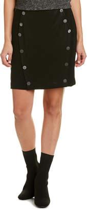 The Kooples Button Mini Skirt