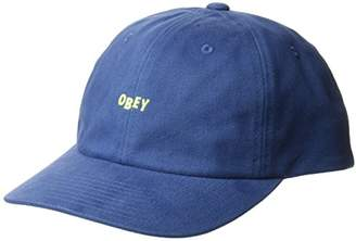 Obey Men's Cutty 6 Panel Snapback