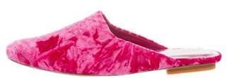 Dries Van Noten Crushed Velvet Mules w/ Tags