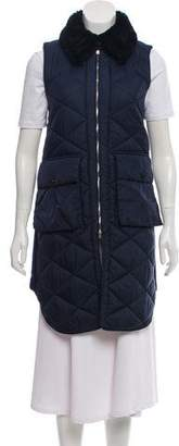 Marni Longline Quilted Vest
