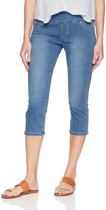 Lee Women's Slimming Fit Pull on Capri Jean