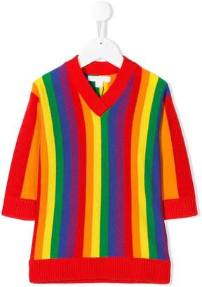 Burberry rainbow stripe jumper